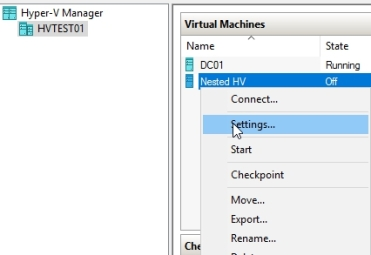 Hyper-V 2016 Nested Virtualization – Nedim's IT CORNER