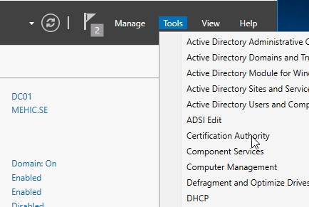 How to Install and configure Active Directory Certificate Services ...