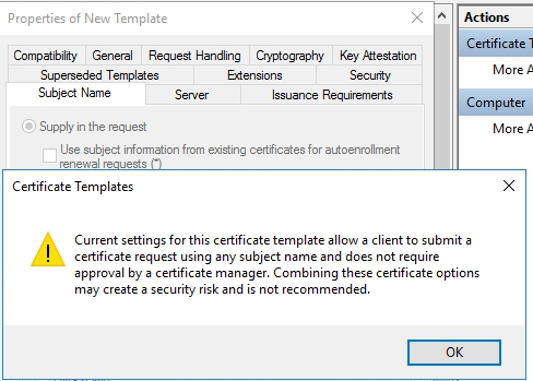 How to install and configure active directory certificate services changing some of the rules that define who should approve a cert before it gets issued those rules can be determined under issuance requirements tab yelopaper Choice Image