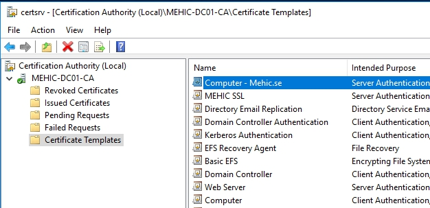 How to install and configure active directory certificate services how to install and configure active directory certificate services 2016 part2 nedims it corner yadclub Image collections