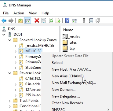How to Deploy and configure DNS 2016 – (Part4) – Nedim's IT