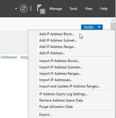 Install and Configure IP Address Management (IPAM) 2016