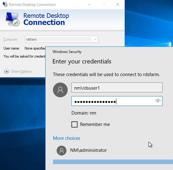 Remote Desktop Services 2016, Standard Deployment – Part 7 – RD