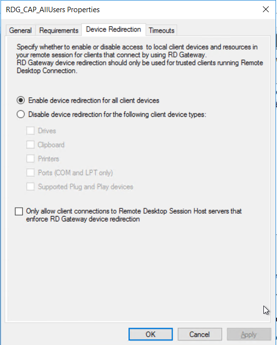 Remote Desktop Services 2016, Standard Deployment – Part 8
