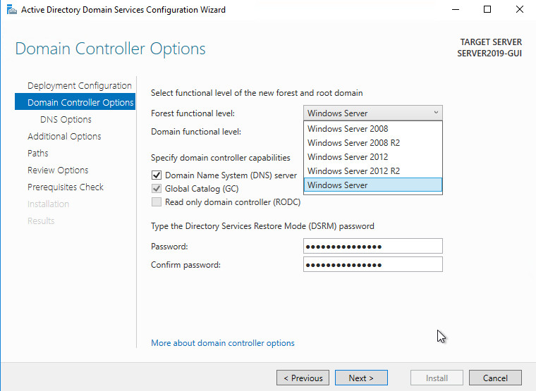 In-Place Upgrade from Windows Server 2016 to Windows server 2019