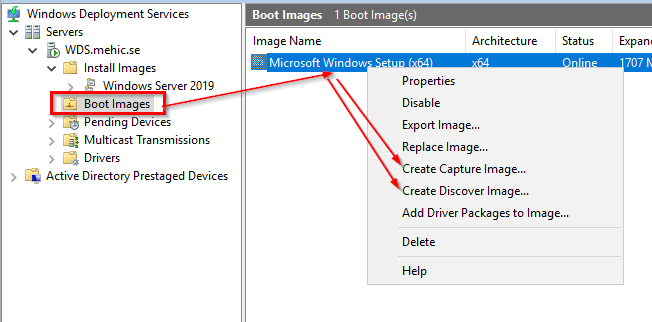How To Capture Windows 7 Image Using Wds How to Capture