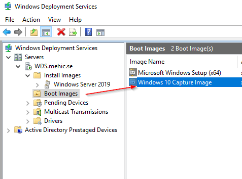 Install and Configure Windows Deployment Services (WDS) 2016