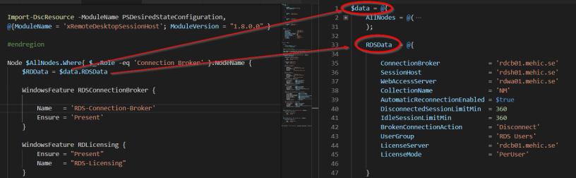 Desired State Configuration (DSC) – Configuration Data – Nedim's IT